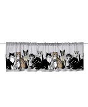 Kappa kitties valance 60x