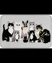 Kitties 50x80cm harmaa