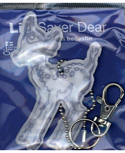 LifeSaver Sinivalkoinen Heijastin Dear
