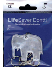 LifeSaver Sinivalkoinen Heijastin Dontti