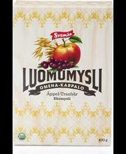 Sysmän Luomu Omena-Karpalomysli 400