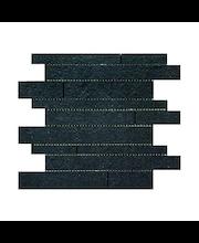 ABL Lattia/seinälaatta  Sauvamosaiikki Gems Brick Black rustic