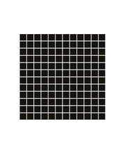 ABL Lasimosaiikki Crystal 4 25*25mm musta