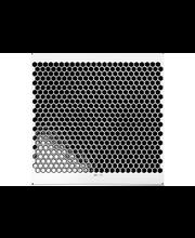 ABL Mosaiikki Hexagonal 25x25mm, musta kiiltävä