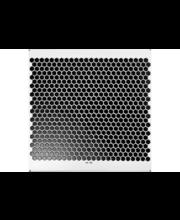 ABL Mosaiikki Hexagonal 25x25mm, musta matta
