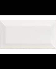 ABL Seinälaatta Metro 7,5x15cm fasetti valkoinen kiiltävä
