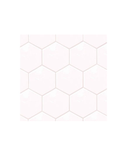 ABL Lattialaatta Hexatile 17,5x20cm blanco, valkoinen kiiltävä