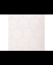 ABL Lattialaatta  Hexatile 17,5x20 blanco, valkoinen matta