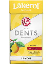 Läkerol Dents 36g C Lemon pastilli