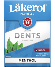 Läkerol Dents 85g Menthol pastilli