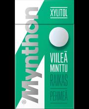 Mynthon Xylitol 31g Viileä Minttu ksylitolipastilli
