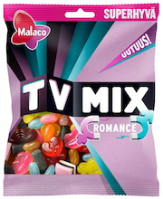Malaco TV Mix 325g Romance makeissekoitus