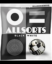 AllSorts 250g Black&White makeissekoitus