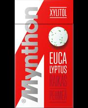 Mynthon Xylitol 31g Eucalyptus +B-vitamiini ja kalsium ksylitolipastilli