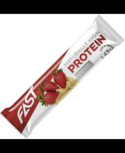 FAST Naturally High Protein 35g mansikka-valkosuklaa proteiinipatukka