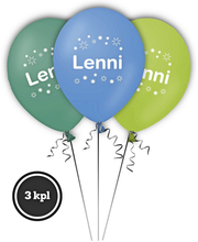 Nimi-ilmapallo LENNI