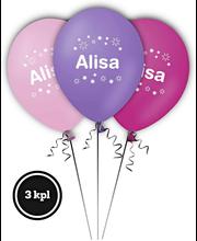 Nimi-ilmapallo ALISA