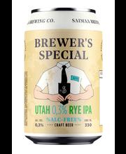 Utah 0,3% Rye IPA olut...