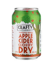 Crafty Apple Cider Dry 4,7% omenasiideri 0,33l tölkki