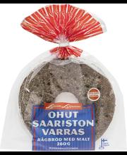 Leivo Saariston varras 260g, maltainen ruisleipä