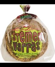 Leivon Siemenvarras 250g, ruissiemenkuivaleipä