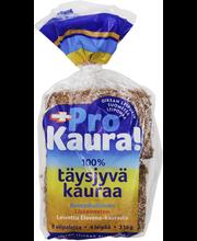 Leivon ProKaura 4 kpl, 315g 100% täysjyväkaura, halkaistu kauraleipä