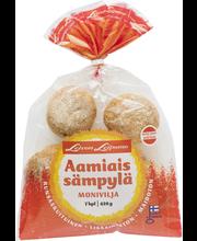 Leivo Aamiaissämpylä 7 kpl/420g moniviljasämpylä