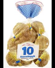 Leivo 10 Kaura sämpylä 470g, 10 kpl vehnä-kaurasämpylä