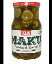 Felix Maku 840/480g viipaloituja kurkkuja mausteliemessä