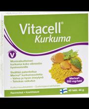 Vitacell Kurkuma kurkumauutetabletti 40 tabl