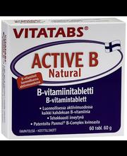 Vitatabs Active B Natural B-vitamiinitabletti 60 tabl