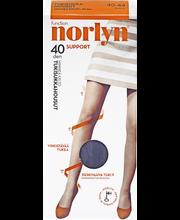 Norlyn Support 40den himmeäkiiltoiset tukisukkahousut