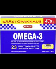 Friggs 3x45kaps Omega-3 säästöpakkaus