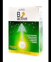 B-Active 3x20kpl vahva B-vitamiini poretabletti, 8 eri vitamiinia, säästöpakkaus