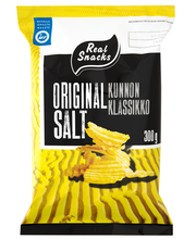 Real Snacks 300g original perunalastu