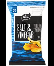 Real Snacks 100g Classic Salt&Vinegar perunalastut
