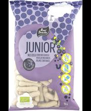 Real Snacks Junior 90g Mustikka luomumaissinaksu