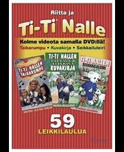 Dvd Ti-Ti Nalle Taikarum