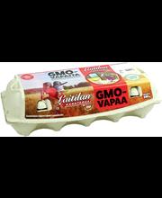 GMO-vapaita kananmunia...