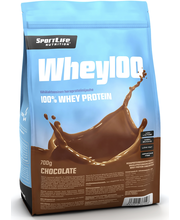 SportLife Nutrition Whey100 700g suklaa heraproteiinijauhe