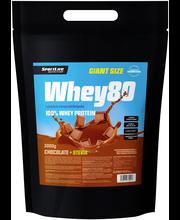 Whey80 3kg suklaa