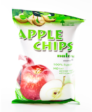 Green Tree 43g Apple Chips natural kuivatut omenalastut