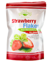 Green all Natural 20g Strawberry flakes