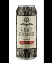 Mallaskoski Last Laugh Amber Lager 4,7% 0,5L olut