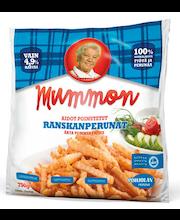 Mummon 750g aidot poimutetut ranskanperunat pakaste
