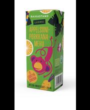 Raikastamo Luomu Appelsiini-Porkkanamehu 200ml