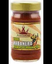 Poppamies 120g tuore habanero tulinen Chilimurska