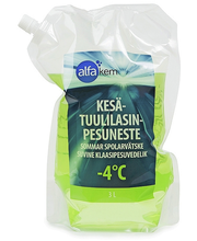 KESÄLASINPESUNESTE -4 ...