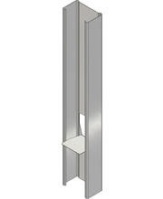 Läppäranka120/40 L=3000mm