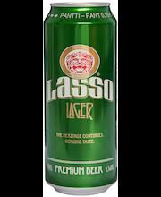 Lasso Lager 50cl tlk 4,5% olut